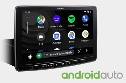 INE-F904D - Works with Android Auto
