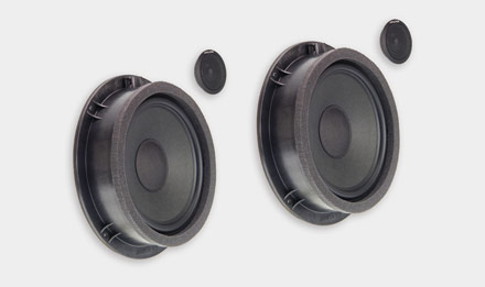 Audi A4 - SPC-100AU 2-way High-end Front Speaker System Upgrade