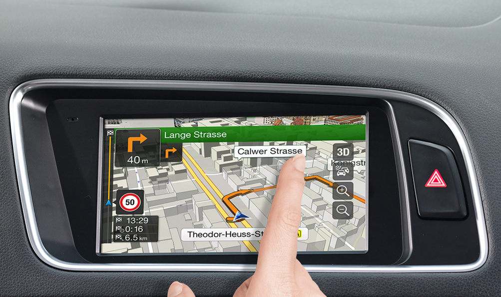 Audi Q5 - X701D-Q5: High Resolution Touch Screen