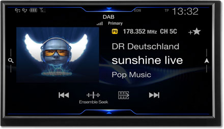 DAB+Digital Radio - Navigation System X703D-F