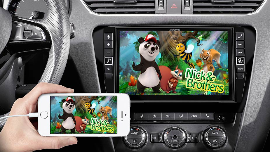 Skoda Octavia 3 - Big Screen Entertainment - X902D-OC3