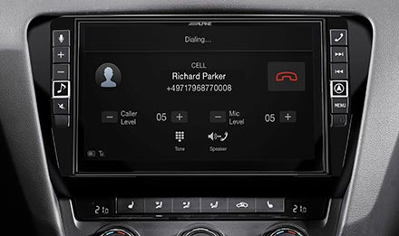 Skoda Octavia 3 - Built-in Bluetooth® Technology - X902D-OC3
